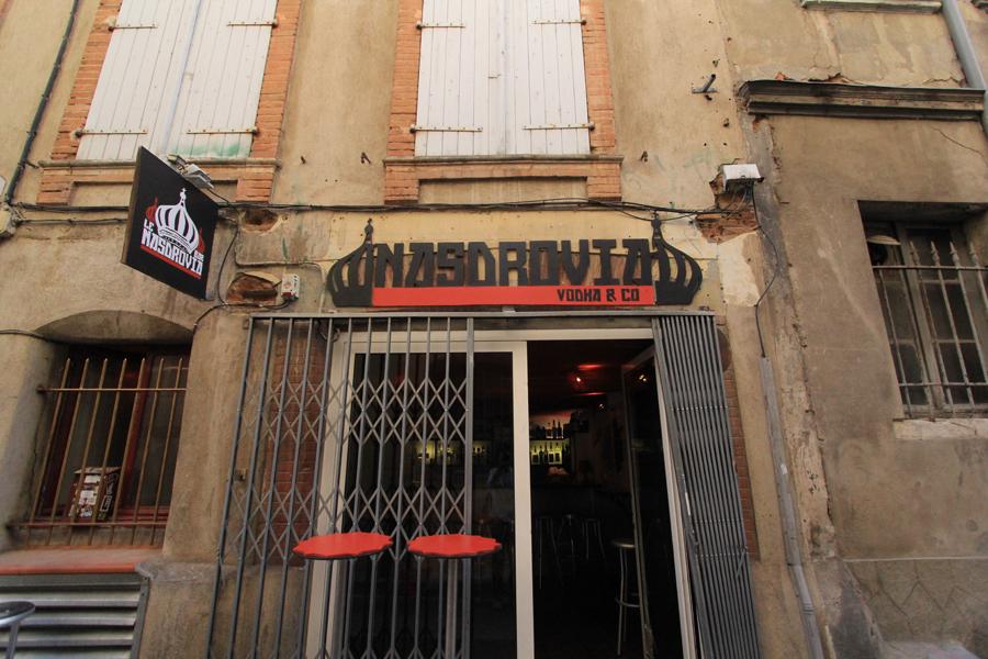 Graphisme Bar Nasdrovia Toulouse Anthony Galerneau