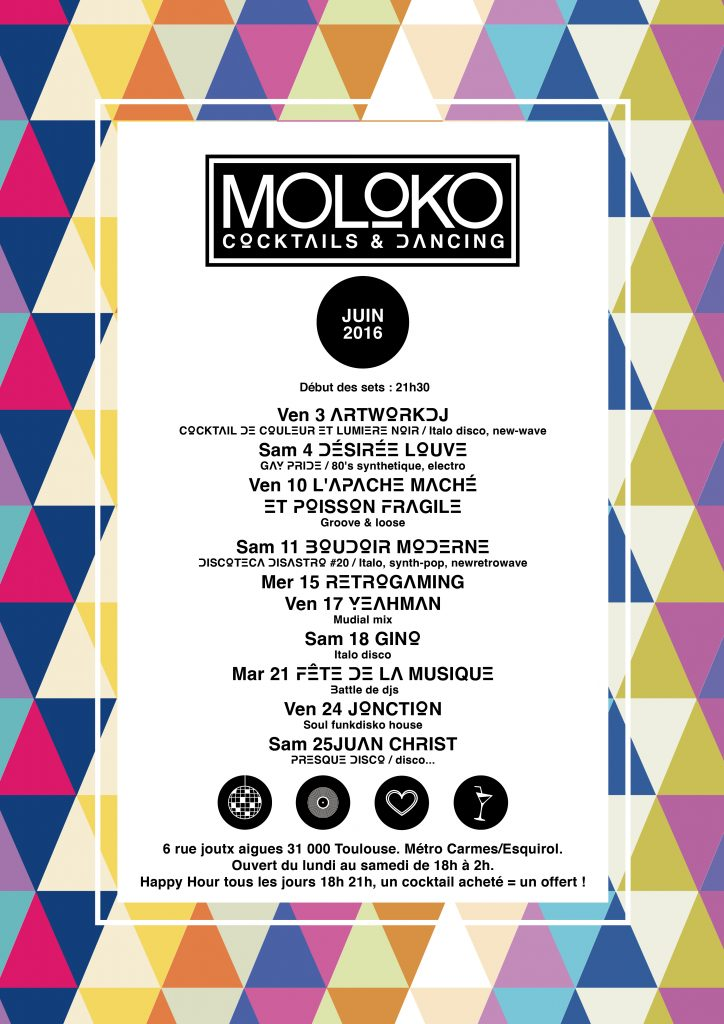graphisme affiche le moloko toulouse anthony galerneau