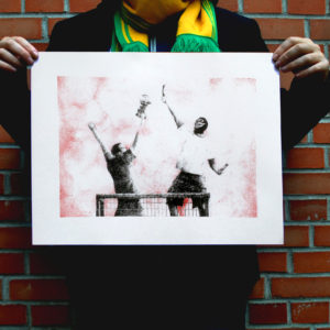 serigraphie football ultra capo anthony galerneau